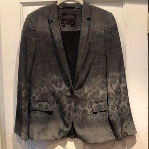 Amazing limited edition silk all saints blazer